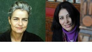 الصحفيتان البارزتان شارلوته فيدمان ومنصورة عز الدين