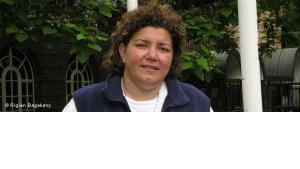 الناشطة الأردنية رانا حسيني، الصورة ريجين باكيراني