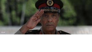 لمشير حسين طنطاوي، رئيس المجلس الأعلى للقوات المسلحة، صورة من الأرشيف
