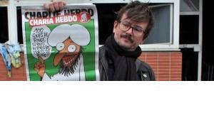 """إحراق مقر صحيفة """"شارلي إيبدو"""" الساخرة"""