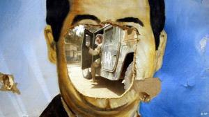 اسقاط صدام حسين  نقطة تحول في تاريخ العراق الحديث، الصورة اب