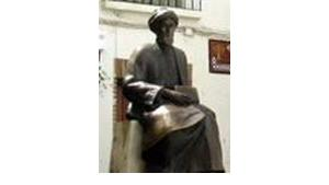 تمثال ابن ميمون في قرطبة، الصورة: المتحف اليهودي في فرانكفورت