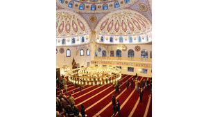 احتفال بافتتاح مسجد