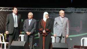 د.سلام فياض في افتتاح المهرجان