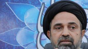 ، الصورة خاص،  أحمد القبانجي رجل دين شيعي العراقي مثير للجدل
