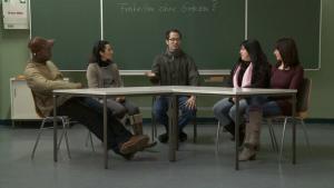 مشهد من فيلم كيف تصبح ألمانياً. DW