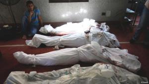 جثث في أحد مساجد القاهرة. Foto: Reuters/Amr Abdallah