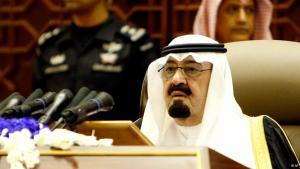 الملك السعودي عبد الله. د ب أ