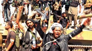 مقاتلون معارضون للأسد. © Reuters/Ammar Abdullah