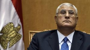 الرئيس الانتقالي المصري عدلي منصور. Foto: AFP/Getty Images