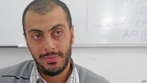 المدون والناشط السياسي سفيان الشورابي. Foto: Ute Schäffer