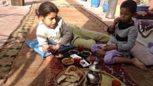 مطعم سيسام غاردن في المدينة العتيقة في مراكش.  Foto: Astrid Kaminski