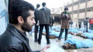 في الأصل الثورة السورية مستلهمة من الربيع العربي. لقد أريد من خلال الاحتجاجات الكبرى إظهار لا شرعية النظام السوري. ولقمع هذه المظاهرات كان رد فعل النظام عنيفاً جداً. في ظل هذا الوضع خلُص الثُّوار إلى ضرورة الدفاع عن النفس.