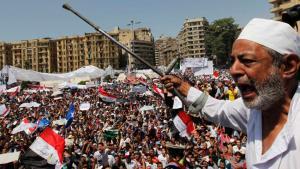 مظاهرات حاشدة في ميدان التحرير. Foto: Reuters