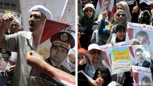 محاكمة مرسي تعمق الانقسام السائد في البلاد