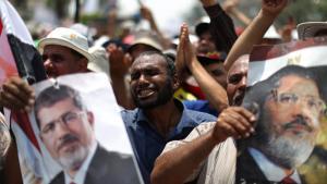 أنصار مرسي 9 يوليو 2013. photo: AFP/Getty Images