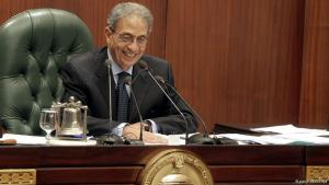 عمرو موسى رئيس لجنة إعداد الدستور.  Foto: dpa/picture-alliance
