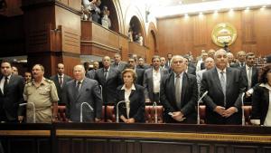 لجنة إعداد الدستور المصري. Foto: picture alliance/landov