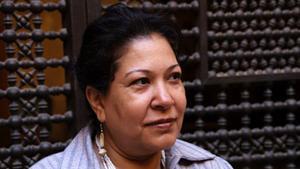الروائية المصرية صفاء عبد المنعم. Foto: Safaa Abdelmenem
