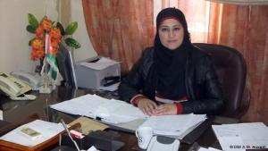 أمامة الشمالية، رئيسة جمعية (فزعة خير) في مدينة الكرك جنوب عمّان