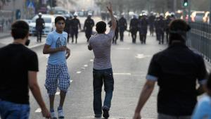 مظاهرات في البحرين ضد قمع السلطة الصورة رويترز