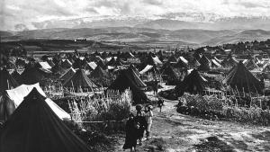 نهر البارد، أول مخيم فلسطيني بعد حرب عام 1948. Foto: UNRWA Archive/S. Madver