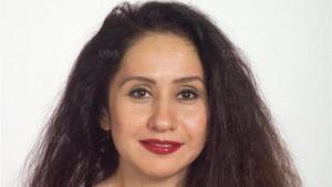 الكاتبة السعودية رجاء عالم. Foto: Unionsverlag