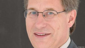 ديتليف بولاك أستاذ علم الاجتماع الديني في جامعة فيلهلم فيستفاليا في مدينة مونستر الألمانية. Foto: Brigitte Heeke