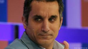 باسم يوسف. photo: Getty Images/AFP/Karim Sahib