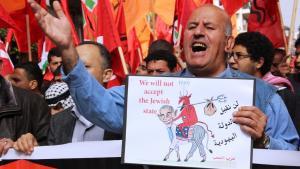 تسير المفاوضات الفلسطينية الإسرائيلية إلى طريق مسدود، الصورة مهند حامد