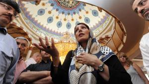 مسجد يوسف سلطان سليم في مدينة مانهايم الألمانية. Foto: dpa/picture-alliance