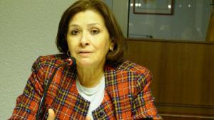 الناشطة الحقوقية التونسية سهام بن سدرين