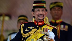 سلطان بروناي، حسن البلقية. Foto: Reuters