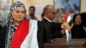 ;  من تصويت الجالية المصرية في سلطنة عمان Foto: AFP/Getty Images