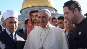 البابا فرنسيس في القدس