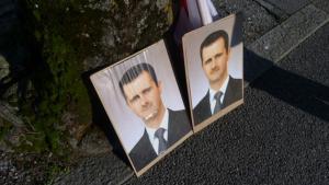 صور باشر الأسد في كل مكان في سوريا البعث، الصورة دويتشه فيله