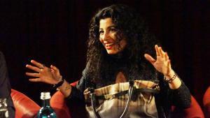 الشاعرة والصحافية والناشطة في مجال حقوق المرأة جمانة حداد. Foto: Ceyda Nurtsch