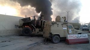 هجوم للمسلحين في الموصل. Foto: Reuters