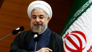 الرئيس الإيراني حسن روحاني. Foto: Reuters