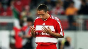 لاعب كرة القدم وبايرن ميونيخ المسلم فرانك بلال ريبري