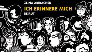 """كتاب """"أتذكر"""" باللغة الألمانية لرسامة الكاريكاتير زينة أبي رائد.  Quelle: avant-verlag"""