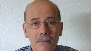 الصحفي اللبناني عبد المطلب الحسيني. Foto: privat
