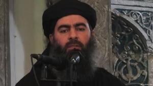 """أبو بكر البغدادي خليفة تنظيم """"الدولة الإسلامية"""" في العراق وسوريا. Foto: YouTube"""