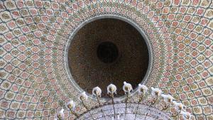 قبة أحد المساجد في البرازيل. Foto: Ekrem Güzeldere