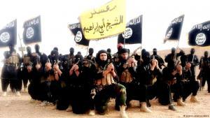 جهاديون من داعش خلال معسكر تدريبي في سوريا