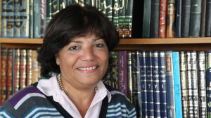 باحثة الدين الإسلامي في ألمانيا مها القيسي فريموت. Foto: privat