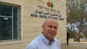 إبراهيم أبو شندي، رئيس المركز الجماهيري العربي اليهودي في مدينة يافا. Foto: Ulrike Schleicher
