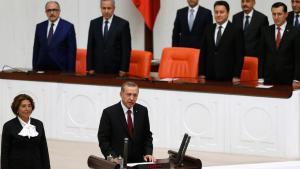 إردوغان بتاريخ 2014 - 08 – 28   في أنقرة. Foto: Reuters