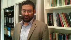 أسامة حسن من مؤسسة كويليام في لندن. Foto: J. Impey