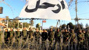جنود مصريون يحرسون القصر الجمهوري Foto: Reuters